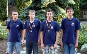 CEOI 2016 - tim i medalje